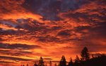 Sunrise at Donner Summit in the Sierra Nevada