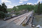 The Historic Canyon Creek Bridge on the Old Alaska Highway