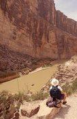Gazing at the Rio Grande in Santa Elena Canyon