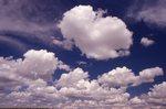 Cumulus Clouds over the Colorado Plains
