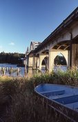 The Historic U.S. 101 Bridge on the Siuslaw River