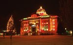 Christmas at the Logan County Courthouse
