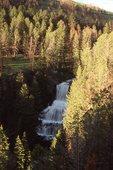 Undine Falls on Lava Creek