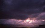Sunset over Freshwater Bay