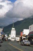 Lincoln Street in Sitka, Alaska
