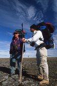 Backpackers on Bathurst Island