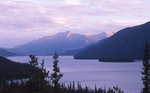 Muncho Lake at Sunset