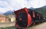 A White Pass and Yukon Railroad Snowplow