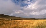 Evening Light on the Wyoming Prairie
