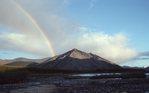 A Rainbow over the Aichilik Valley