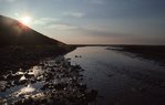 Evening on the Aichilik River at the Edge of the Arctic Coastal Plain