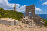 Virgin Gorda, British Virgin Islands, Caribbean: Abandoned Copper Mine (1837-1862) ruins, an historic National Park on Copper Mine Point