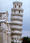 Leaning Tower or Campanile of Pisa.