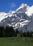 Kanderstag area in the Swiss Alps.