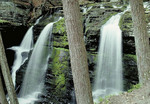 Waterfall in the Delaware Water Gap National Recreation Area.