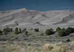 Great Sand Dunes National Monument in Colorado.