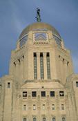 State capitol building of Nebraska.