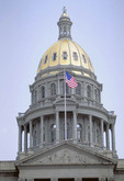 State Capitol building in Denver.