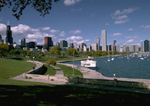 Chicago's magnificent lakefront.
