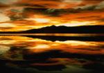 Sunrise at Big Bear Lake.