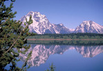 Jackson Lake Grand Teton National Park, Wyoming in the Spring.