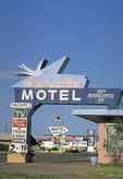 Blue Swallow Motel on old Rt. 66