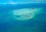 Aerial image of Great Barrier reef