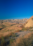 Summertime in the Badlands National Park.