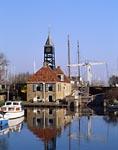 Lift bridge in the Town of Hindeloopen