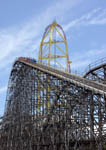 Rollercoasters at Cedar Point Amusement Park