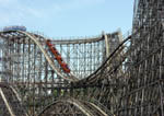 Roller coasters at Cedar Point Amusement Park
