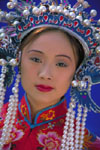 Chinese woman in Ming Dynasty dress