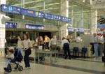 Securtiy check point in airport