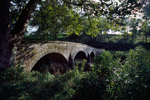 Burnside's Bridge or South Bridge over Antietam Creek at Antietam National Military Park in Maryland