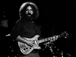 Jerry Garcia of the Grateful Dead performs during a concert at Keil Auditorium in St. Louis in March of 1973.