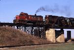 KB & S 308 on former MIL bridge (CTH & SE)