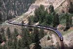 Rocky Mountaineer Rail tours train eastbound