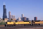 Union Pacific 8186 west and Sears Tower