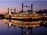 Grand Victoria Casino boat in Fox River