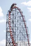 Magnum XL roller coaster at Cedar Point Park in Sandusky, Ohio