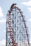 Magnum XL roller coaster at Cedar Point Park in Sandusky, Ohio