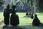 Topiary Garden at School for the Deaf in Columbus, Ohio