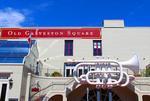 Music on the square, The strand, Galveston, Tx
