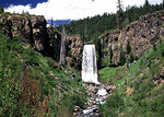 Tumalo Falls, Willamette National Forest, Bend, Oregon