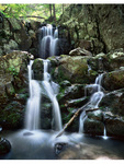Doyles Waterfalls in Shenandoah National Park