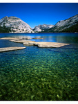 Lake Tenaya in Yosemite National Park