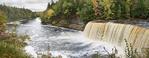 Tahquamemon Falls Upper Peninsula of Michigan