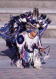 Native American Indian dancer at Great Basin Festival