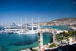 Cruise ships in Kusadasi Harbour near Ephesus Turkey