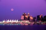 Vancouver, BC, Canada city skyline